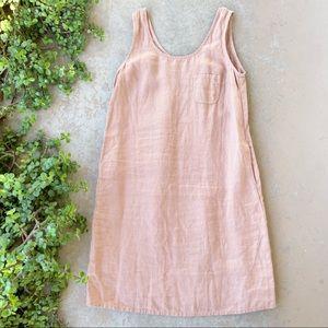 Not Perfect Linen Sicily Linen Sleeveless Dress